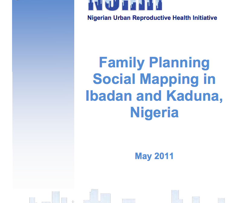 Family Planning Social Mapping Report