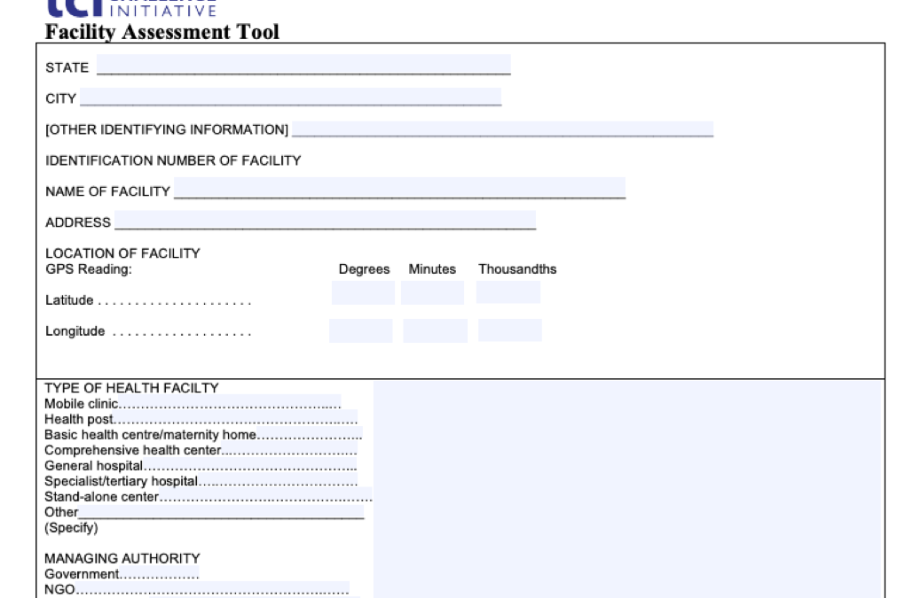 Facility Assessment Tools